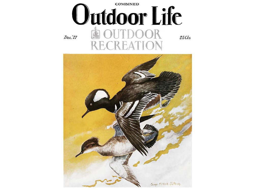 December 1927 cover of Outdoor Life