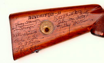 Gun of the Week: Herb Parsons's Winchester Model 71 Lever Action Rifle
