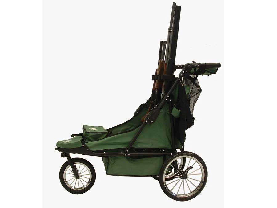 Rugged Gear Camo Limited Edition 4-Gun Shooting Cart