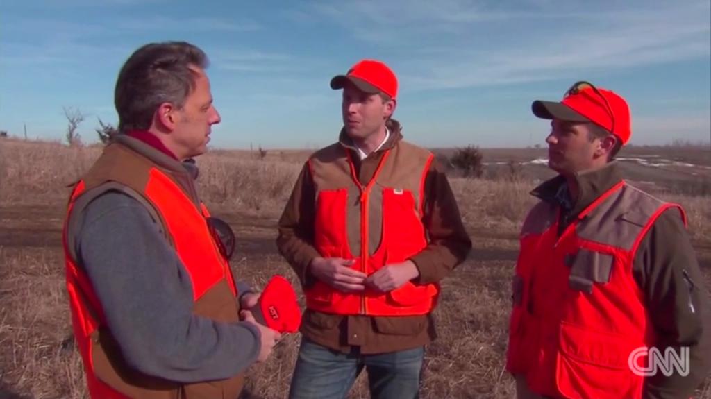 Donald Trump Sons hunting