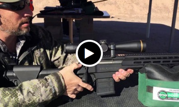 Winchester XPC Chassis Rifle and Subsonic Ammo