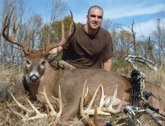 Maryland Bowhunter Takes Monster 194-Inch Buck