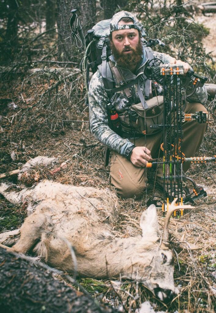 buck mountain lion kill