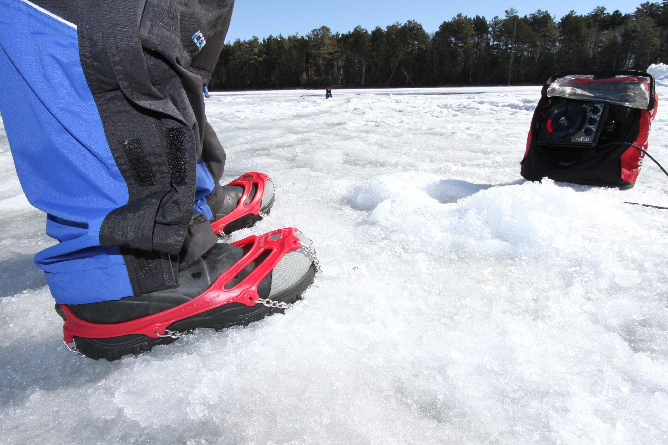 safe ice fishing