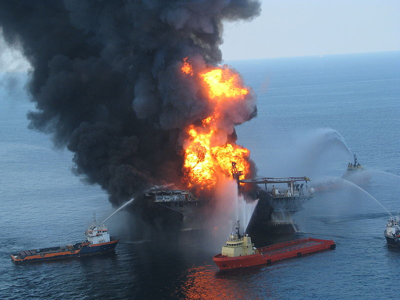 Another Oil Rig Explosion in the Gulf