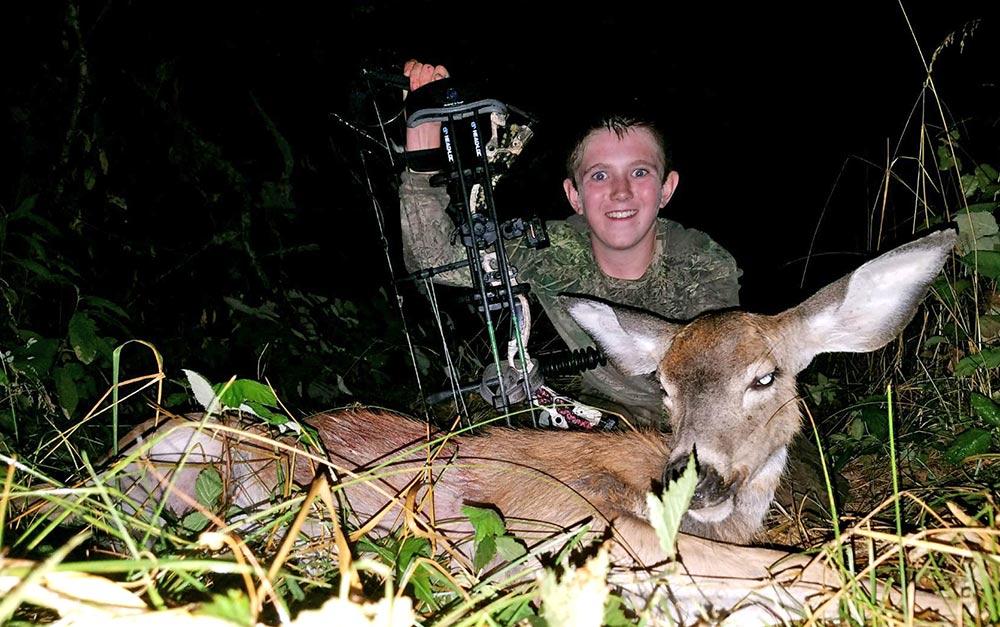 Black-tail deeer hunting on William L. Finley National Wildlife Refuge