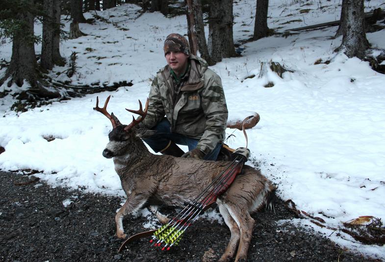 blacktail archery deer