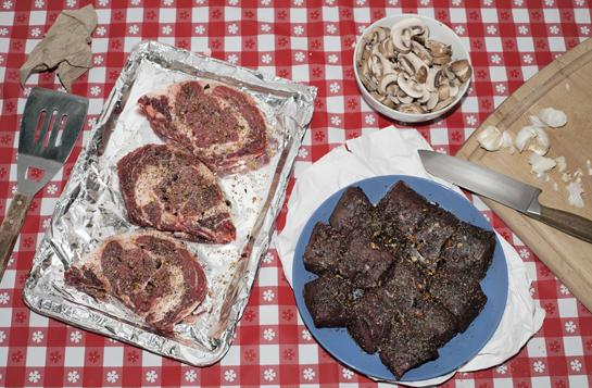 beef vs steak