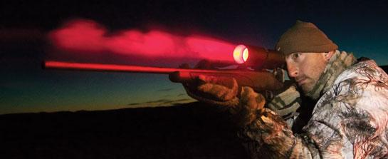 LED CoyoteLight: Hunt Coyotes When They Are Most Active
