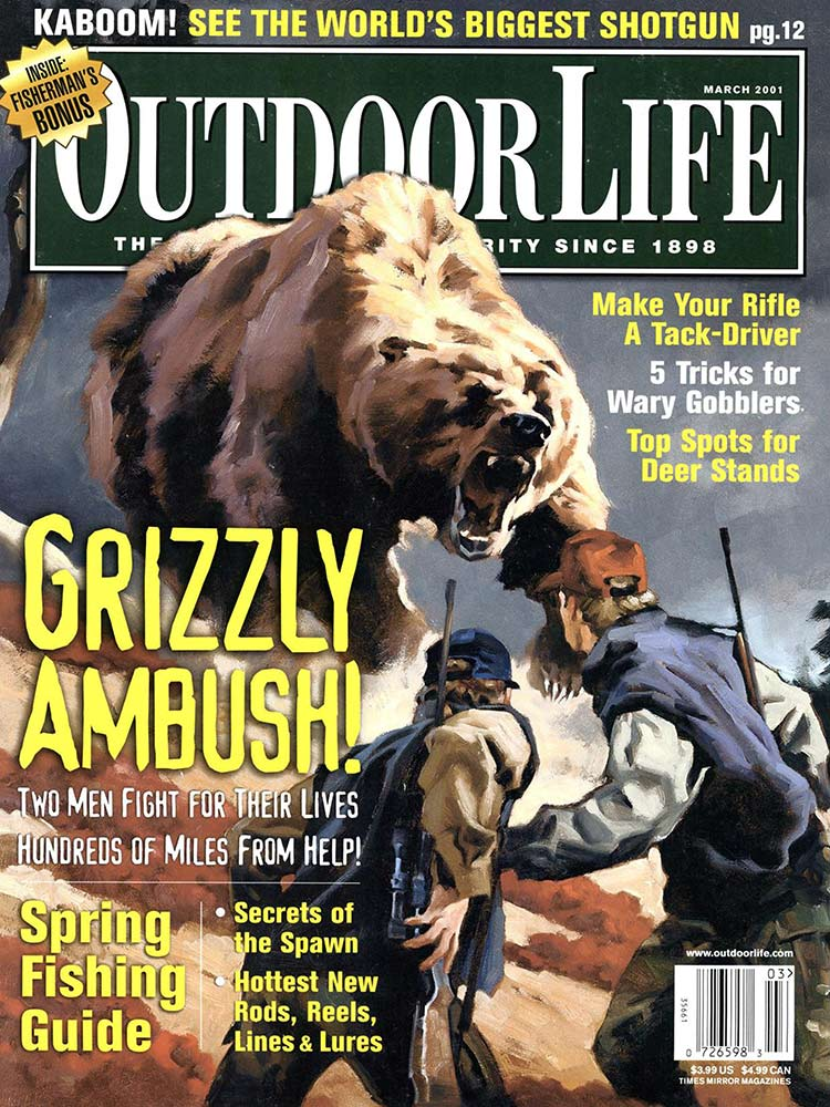 March 2001 Cover of Outdoor Life