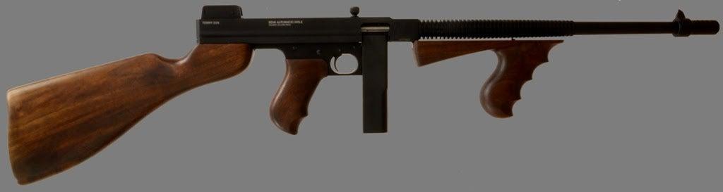 New Semiauto .22 LR Tommy Gun