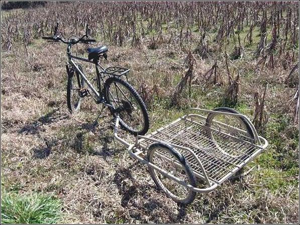 Try a mountain bike.