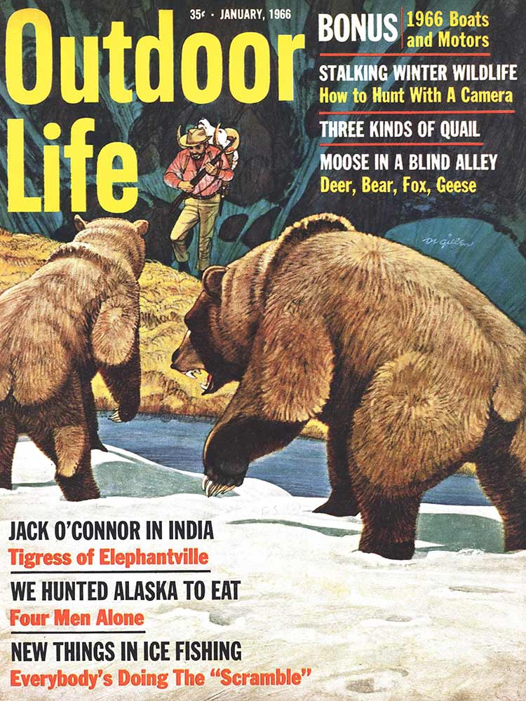 January 1966 Cover of Outdoor Life