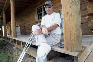 Logger Cuts Off Toes to Survive