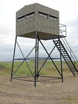 A deer hunting fortress.