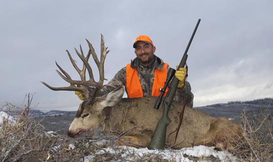 Taking a Record Book Colorado Mule Deer