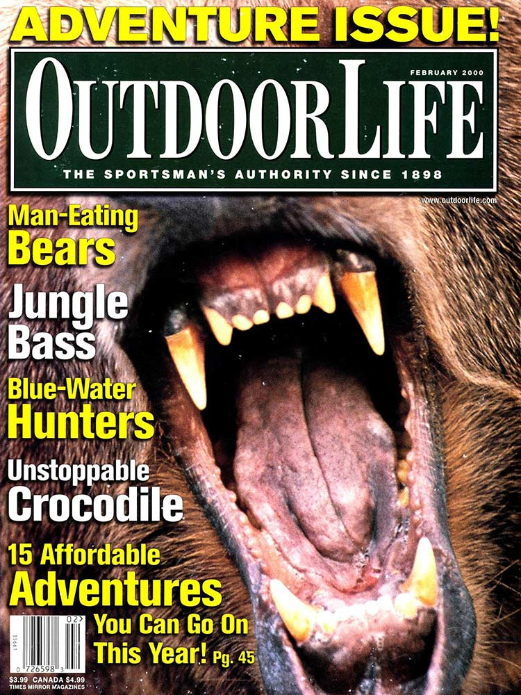 February 2000 Cover of Outdoor Life