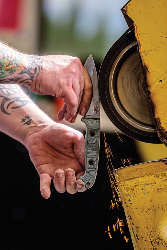 benchmade knife crafting robbie mcglone