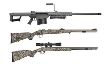 New Gun Round Up: Barret 82A1, Traditions Evolution and Pursuit Ultra Light