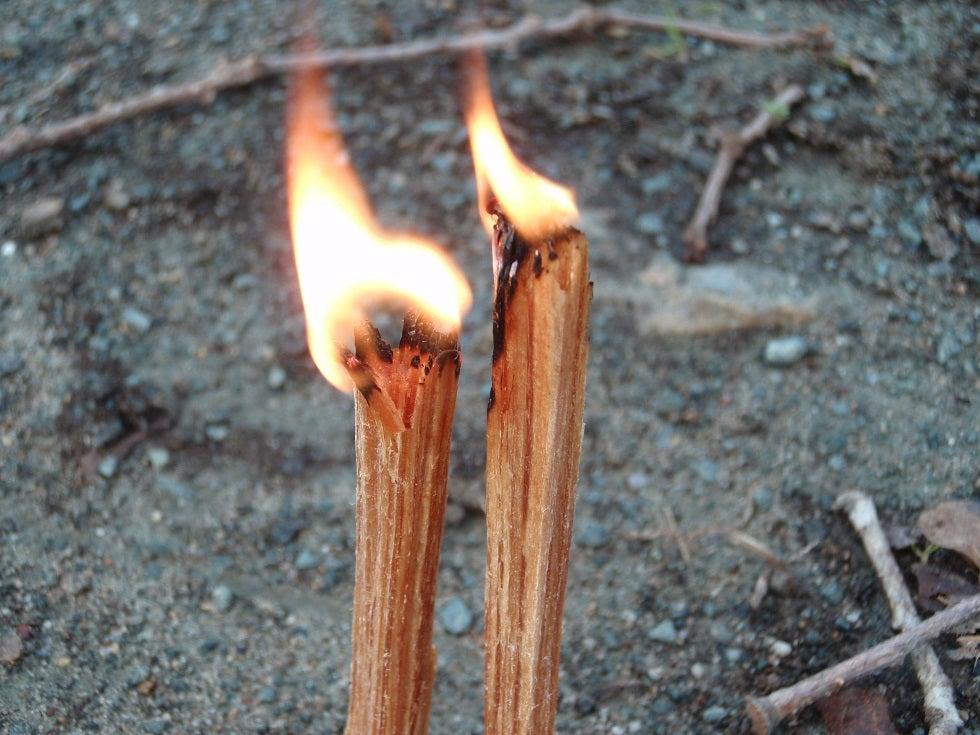 burning-fatwood
