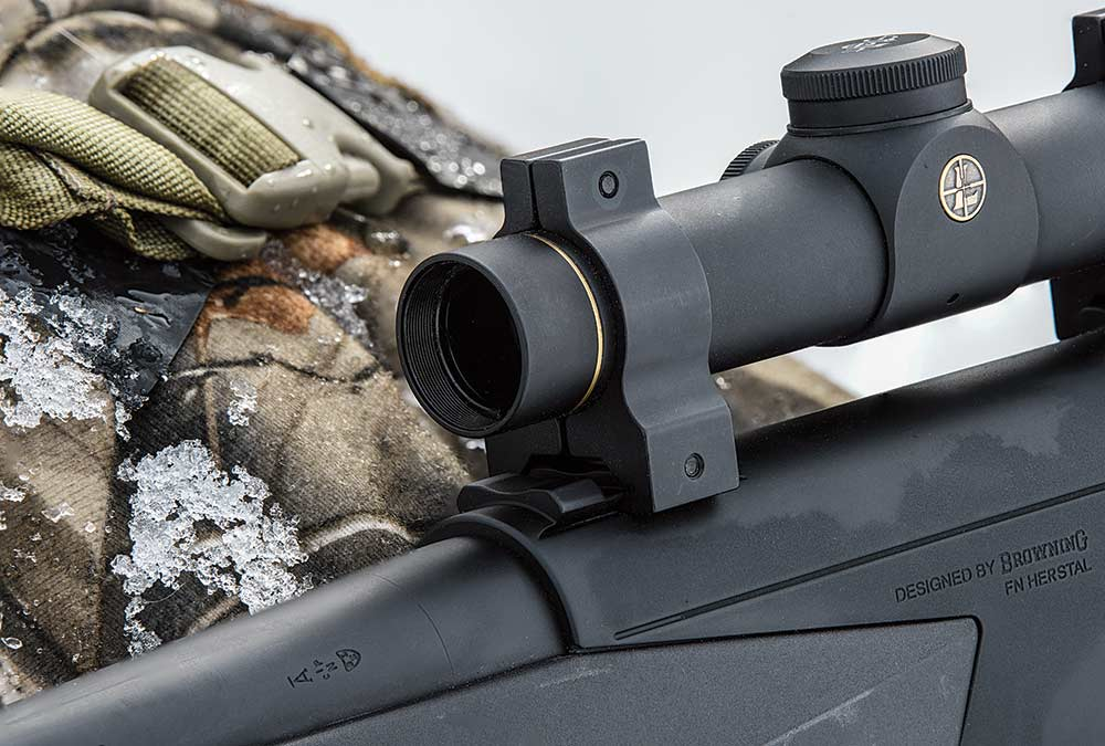 Browning BAR MK 3 DBM tactical rifle scope mount