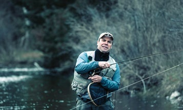 Brown University: Pre-Spring Trout Fishing