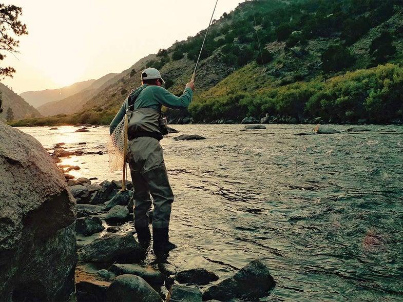 Paul Vertrees Trout Fishing in Arkansas