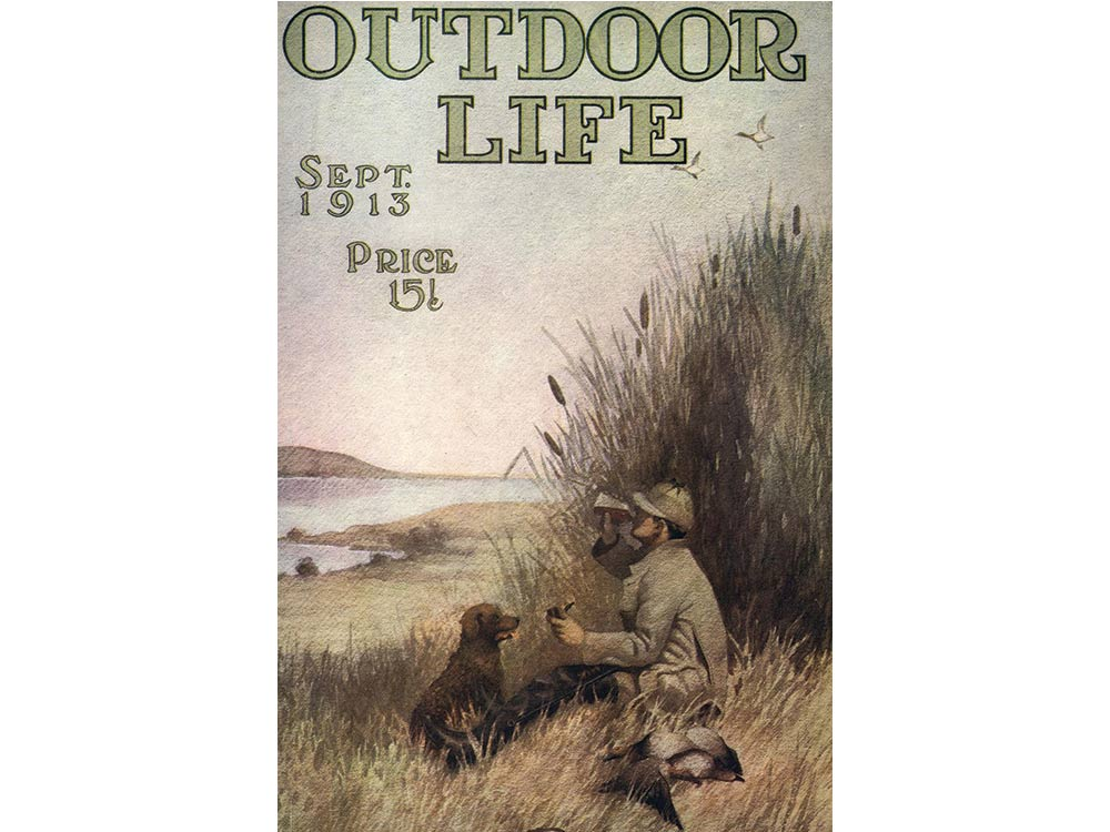 September 1913 cover of Outdoor Life
