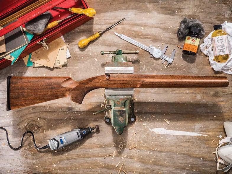 how to refinish a gun stock