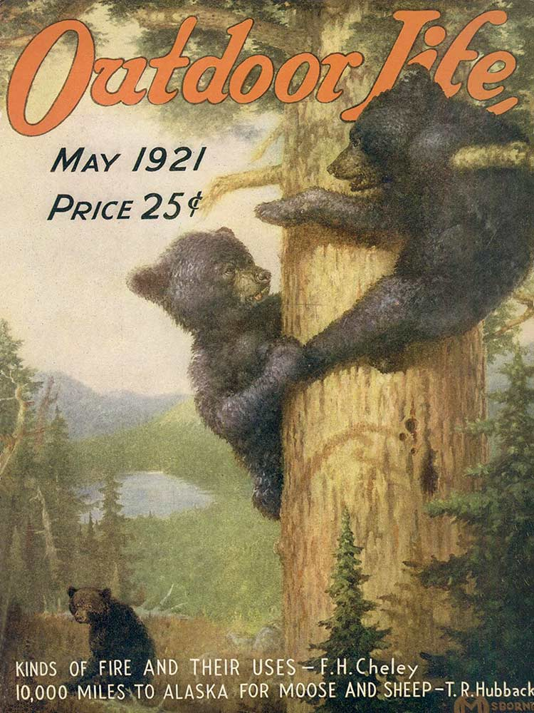 Cover of the May 1921 issue of Outdoor Life