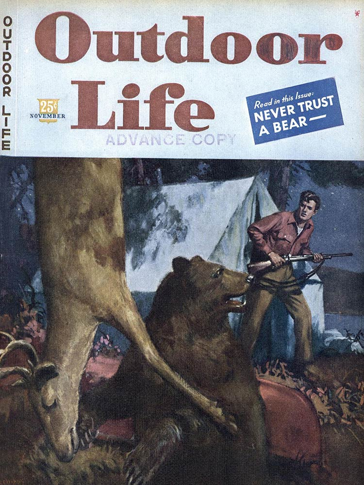 November 1994 Cover of Outdoor Life