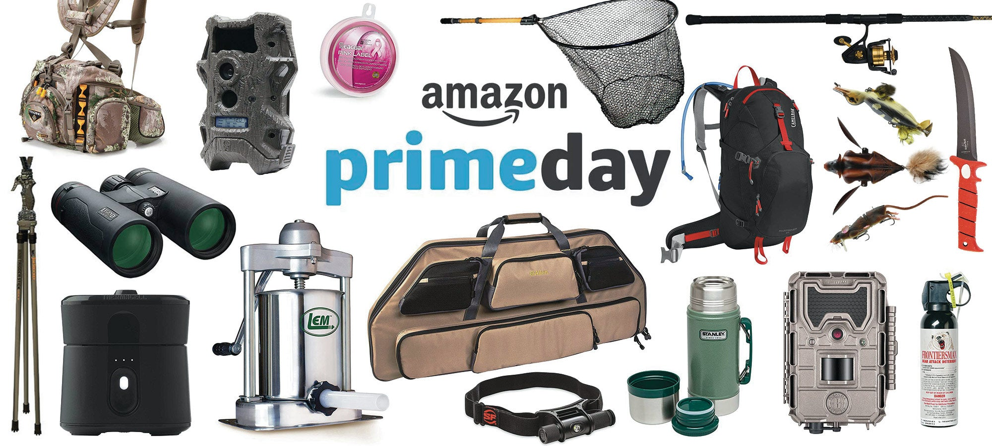 2018 amazon prime day hunting fishing camping deals