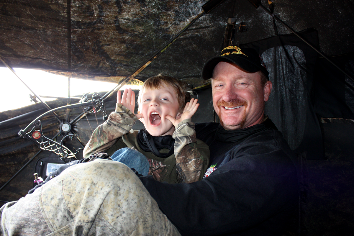 How to Get Your Kids into Turkey Hunting