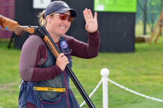 Kim Rhode Wins Gold Medal in Women's Skeet in 2012 Olympics, Makes U.S. Team History