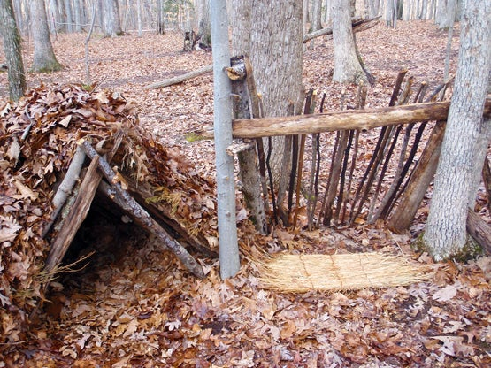 Survival Skills: How To Build A Lean-To Shelter
