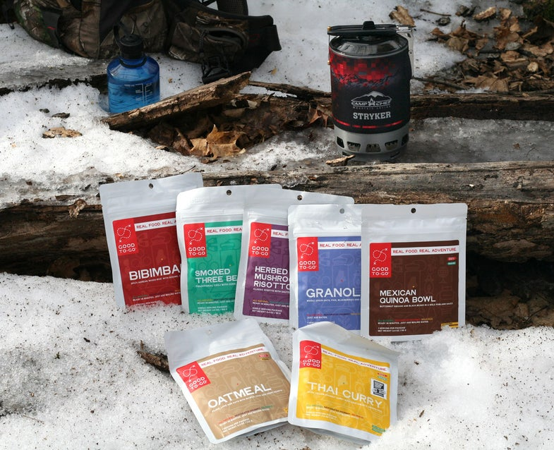 good to go dehydrated camp meals
