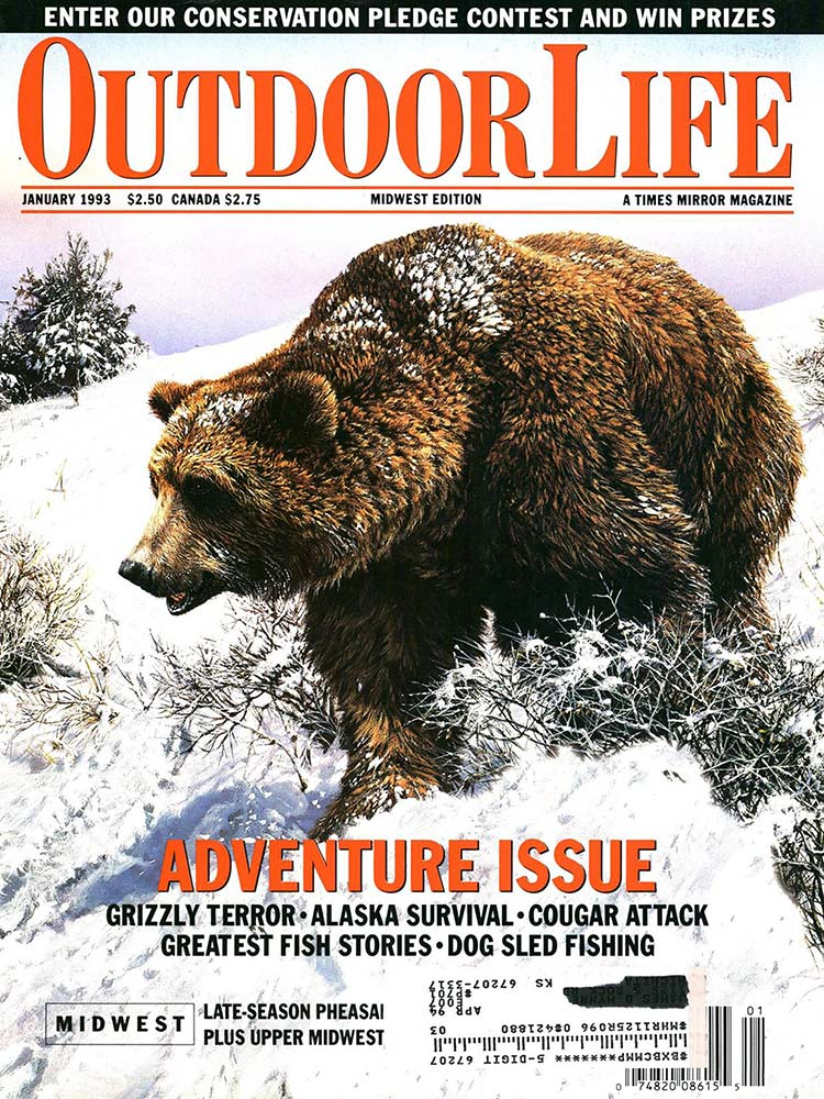 January 1993 Cover of Outdoor Life
