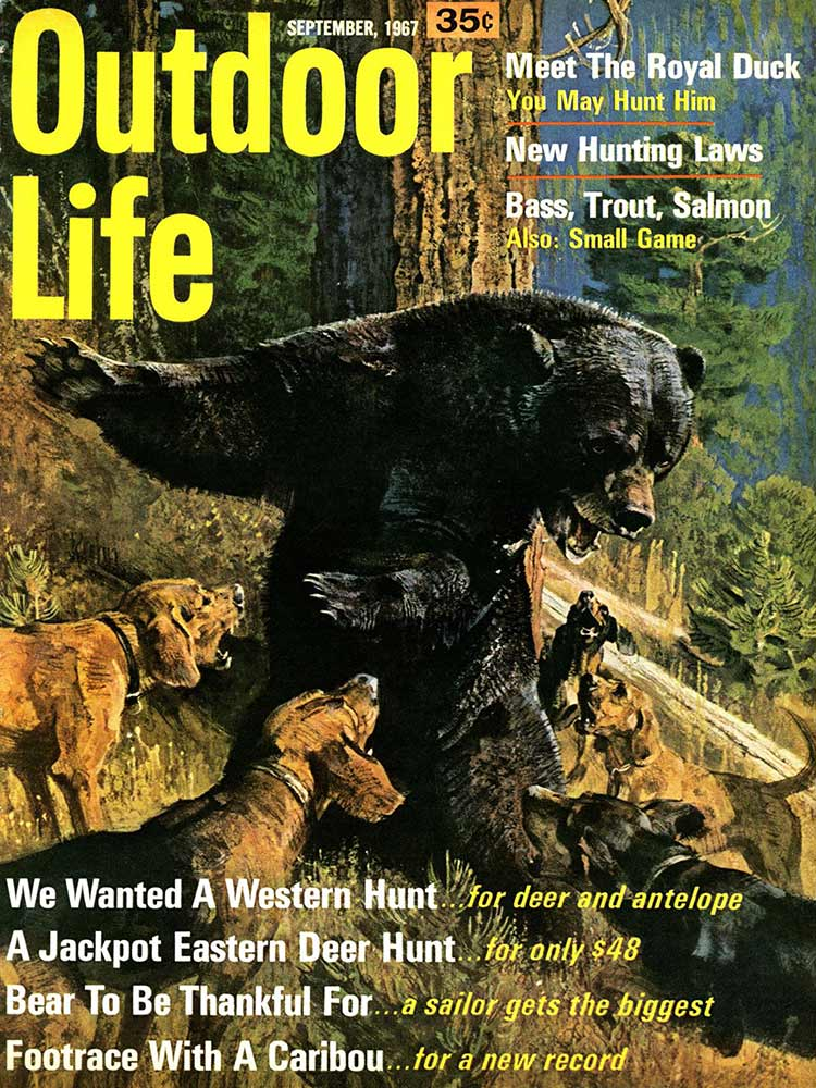 September 1967 Cover of Outdoor Life