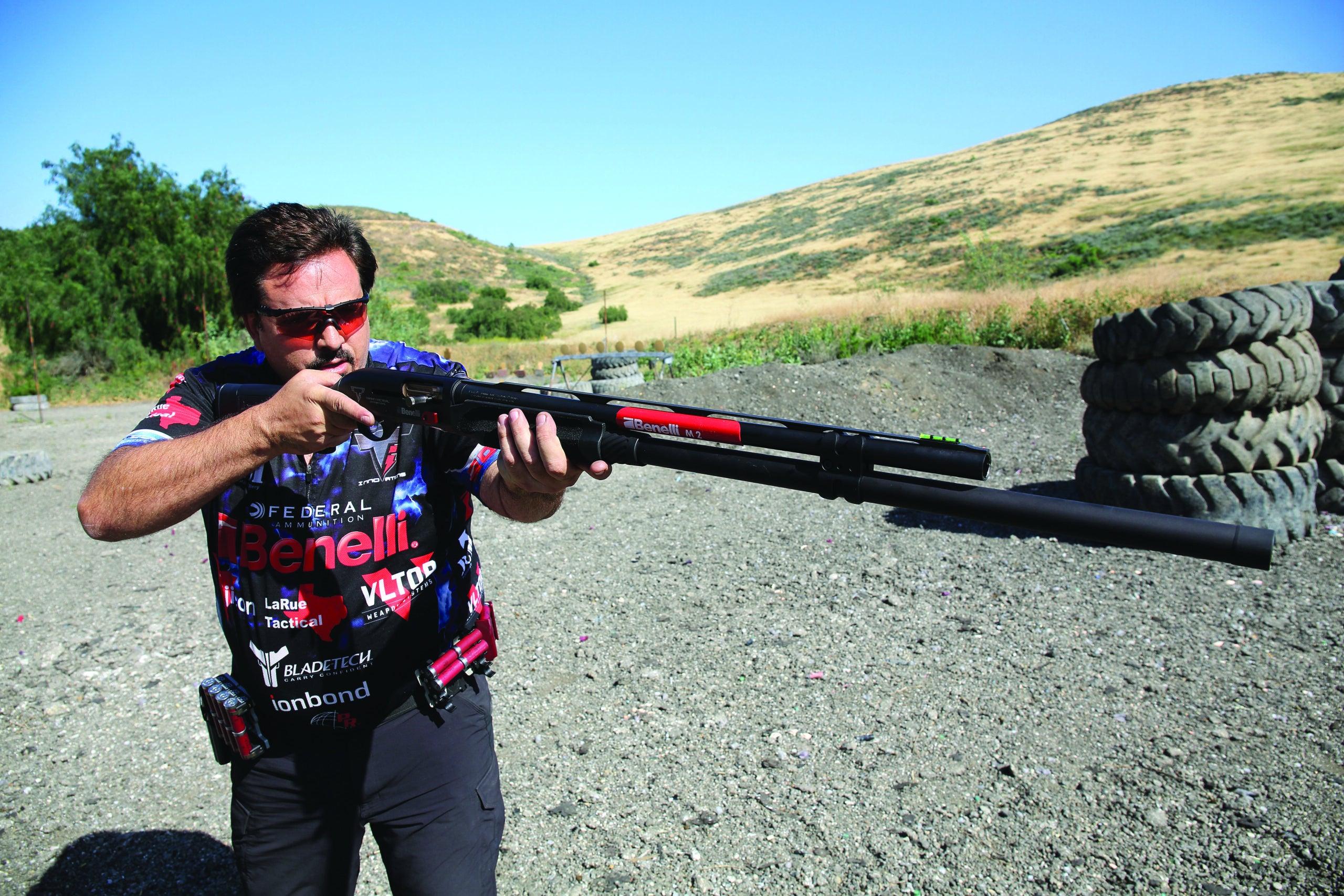 3-Gun Champ Taran Butler on Shooting Better and Hollywood Gun-Handling