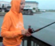 Must-See Video: Shark Snatches Fish from Girl