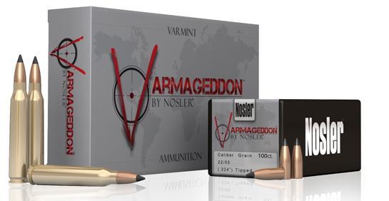 Nosler Introduces New Varmageddon Ammo For Varmint Hunters