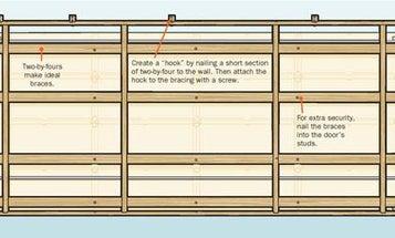 Hurricane Safety Tip: Reinforce Garage Doors in a Windstorm