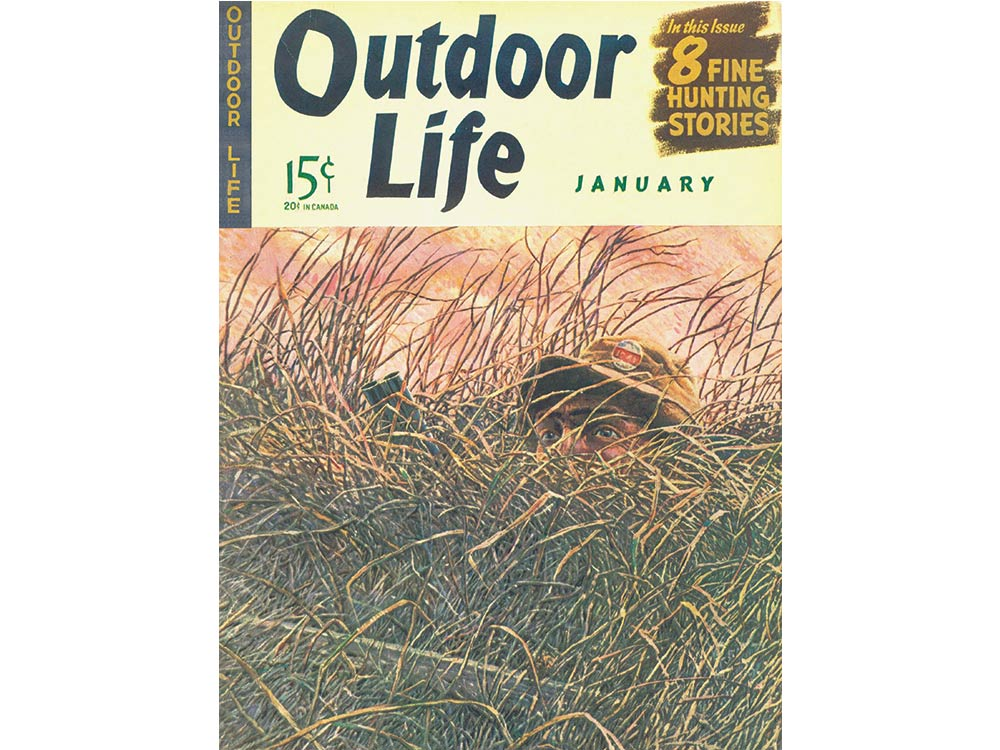 January 1942 cover of Outdoor Life