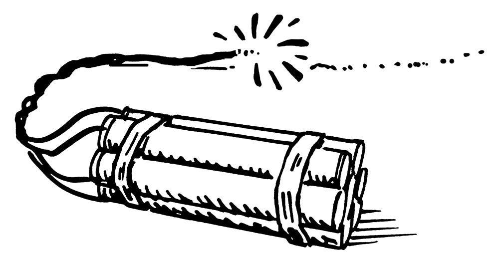 Dynamite illustration
