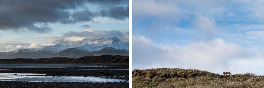 Cold Bay, Alaska landscape