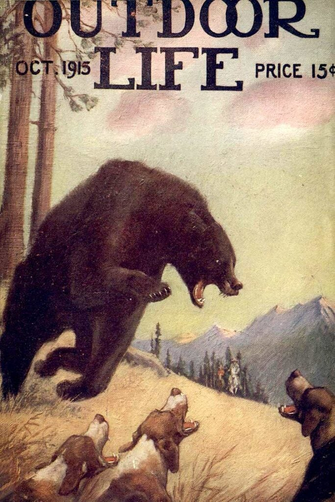 Cover of the October 1915 issue of Outdoor Life