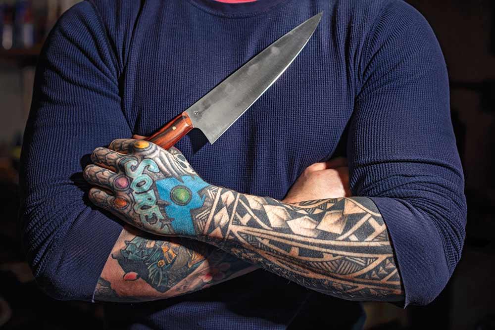 carter cutlery chef knife crafting shamus dotson