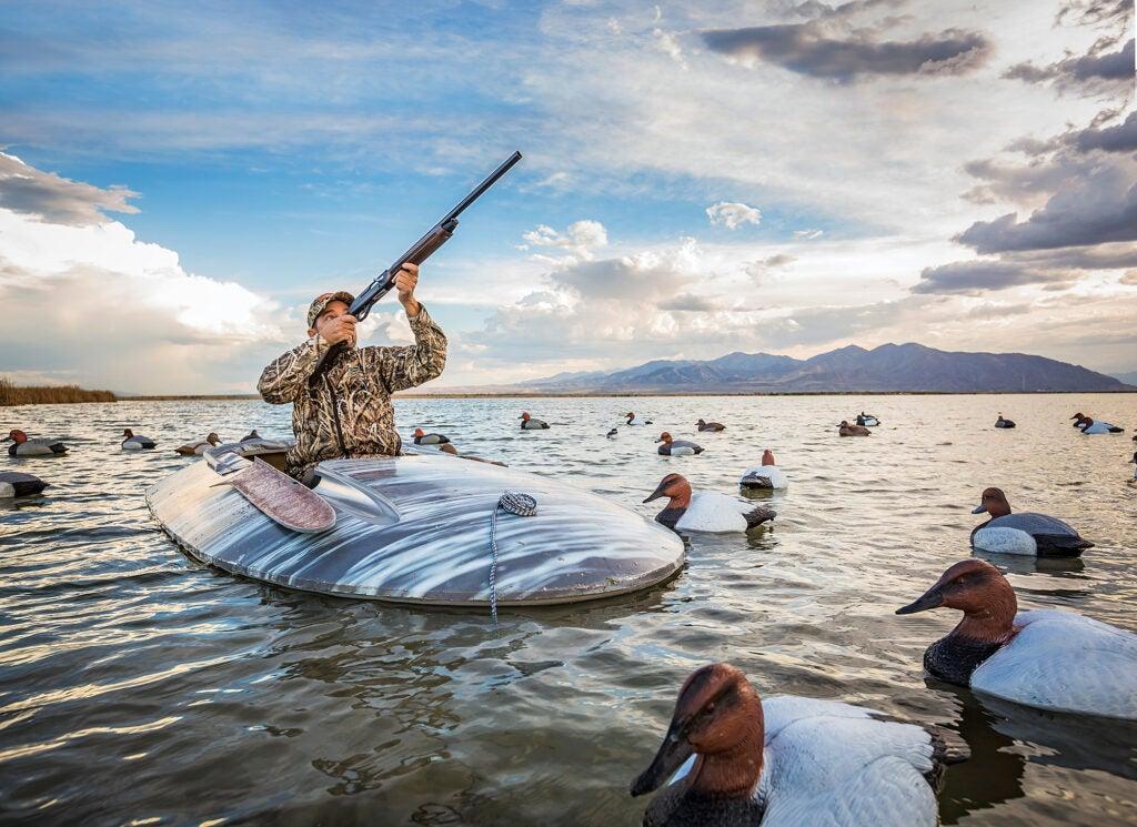 duck hunting Salt Lake