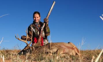 Video: Cheyenne's First Muzzleloader Buck