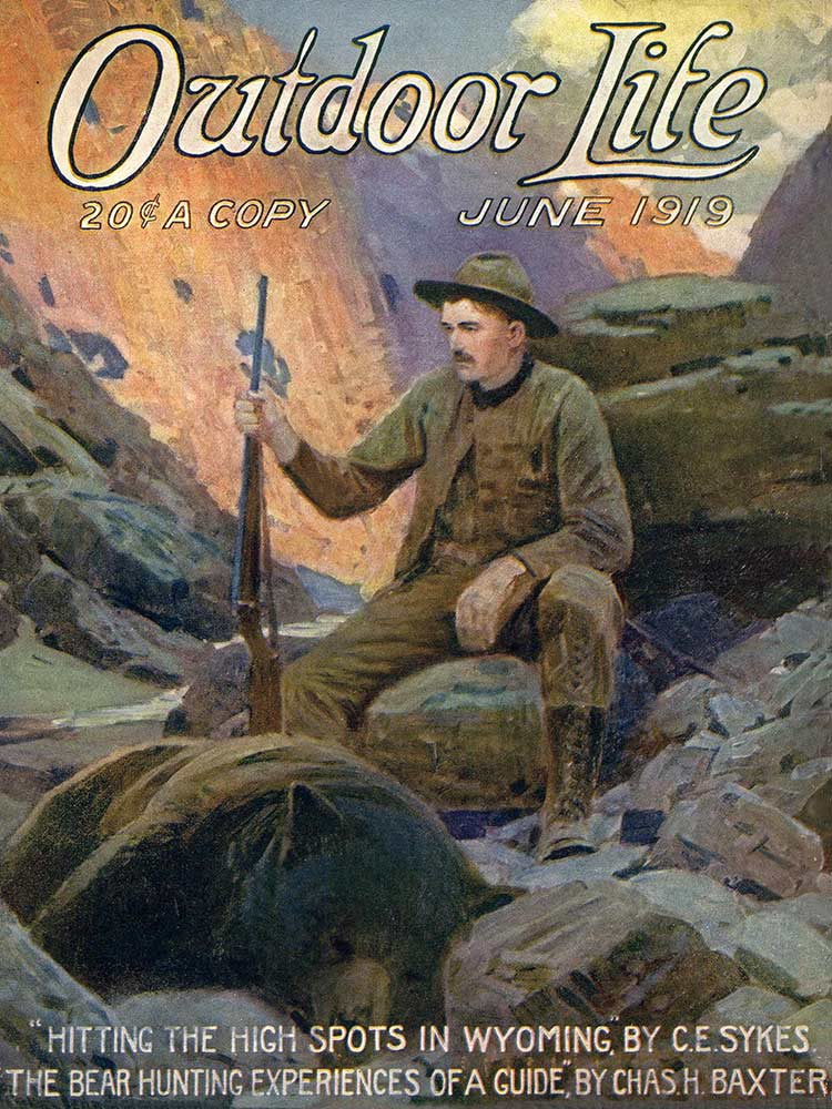 Cover of the June 1919 issue of Outdoor Life